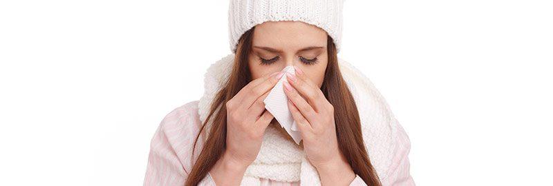 Principais sintomas da gripe H1N1